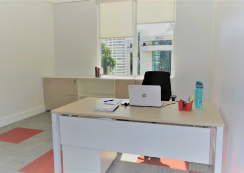 Exterior private office