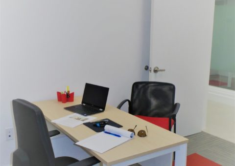 Private, lockable, and secure office space