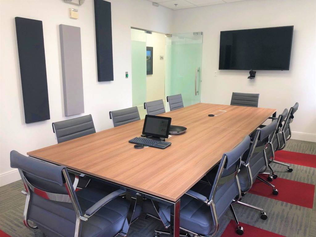 Conference room for ten people